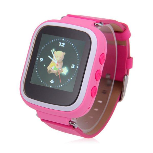 Детские часы с GPS SMART BABY WATCH Q80 (Q60s) Розовые