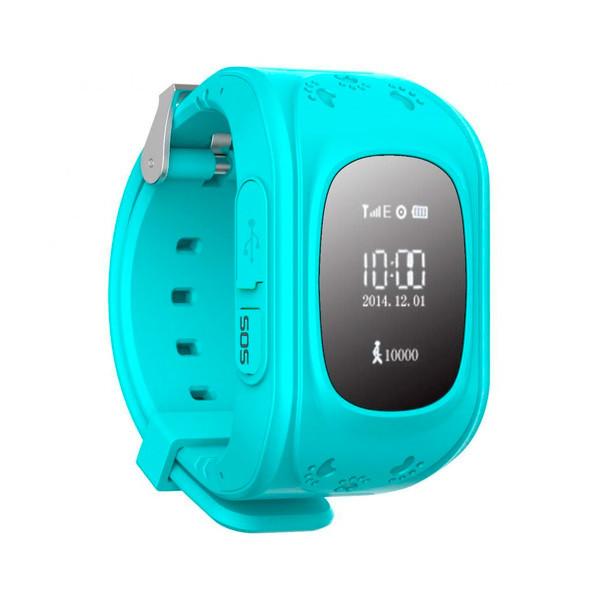 Детские часы с GPS SMART BABY WATCH Q50 Голубые