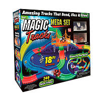 Гоночная трасса конструктор Magic Tracks 360 деталей + 2 машинки