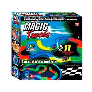 Гоночная трасса конструктор Magik Tracks 165 деталей + машинка