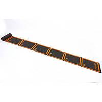 Координационная лестница в рулоне  для тренировки скорости