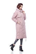 Зимнее пальто-пуховик для очень холодной зимы Большие размеры  42-54, фото 3