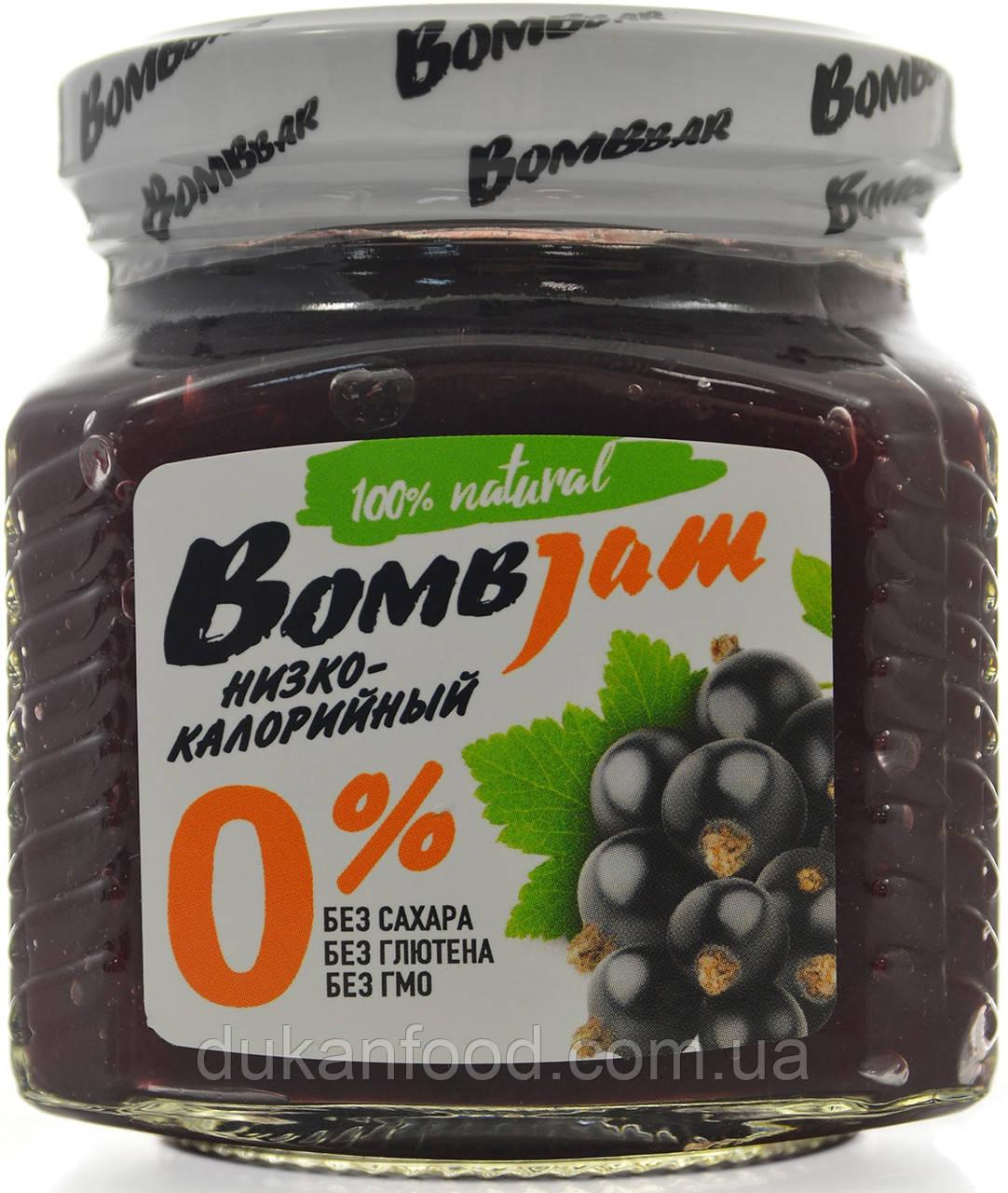 """BomBJam """"Черная смородина"""" низкокалорийный джем"""