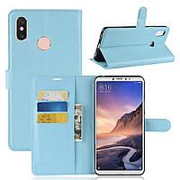 Чехол-книжка Litchie Wallet для Xiaomi Mi Max 3 Голубой