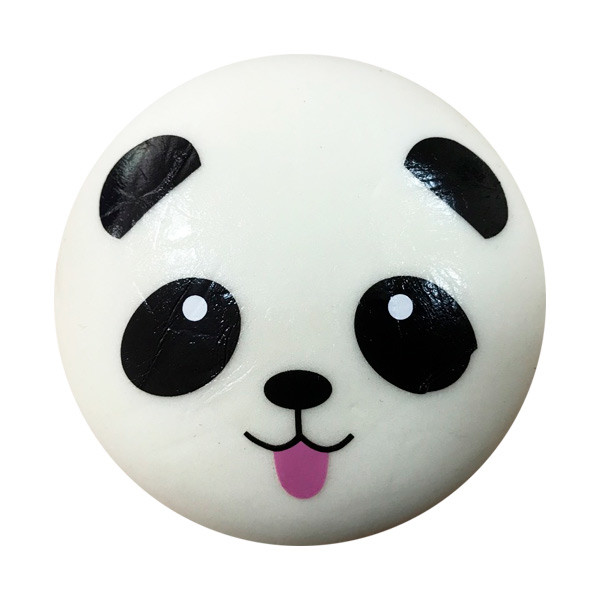 Мягкая игрушка антистресс Сквиши Squishy Панда с языком