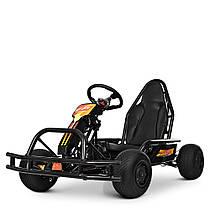 Электрокарт детский M 4041-2 Черный Гарантия качества Быстрая доставка