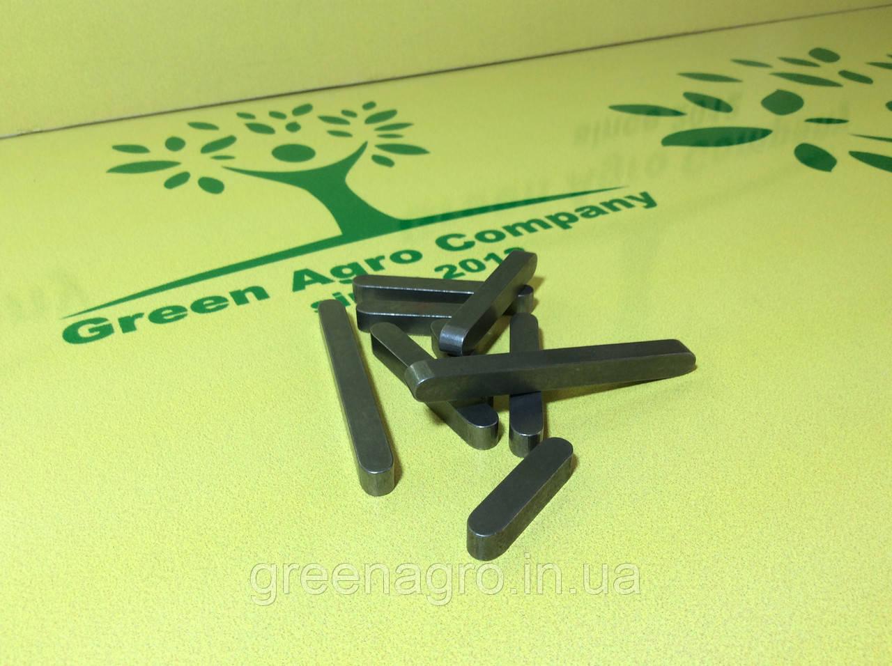 Шпонки на валы косилки роторной z-169, z-173, z-069, z-001