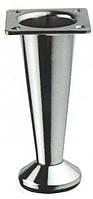 Ножка мебельная // Ozkardesler / декоративная / H= 100 мм / хром / регулируемая / ( 9637 ), фото 1