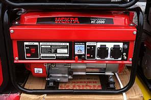 Генератор бензиновый Искра ИГ-3500