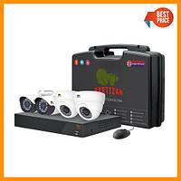 Комплект видеонаблюдения Partizan Mixed Kit 1MP 4xAHD, фото 1