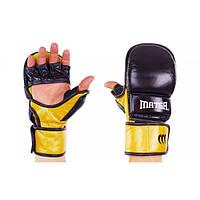 Перчатки гибридные для единоборств MMA MATSA