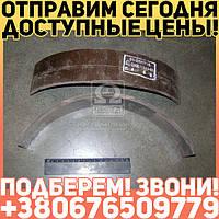 ⭐⭐⭐⭐⭐ Накладка тормоза ГАЗ 51,52,53 передняя длинная (производство  УралАТИ)  51-3501105