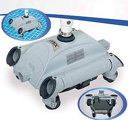 Автоматический подводный вакуумный пылесос для бассейнов intex 28001