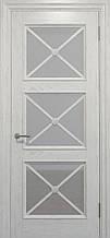 Двери CROSS C-022, полотно+коробка+2 к-кта наличников+добор 90 мм, шпон, срощенный брус сосны