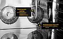 Печь пароконвекционная пекарская UNOX XFT193 600х400мм (Италия), фото 2