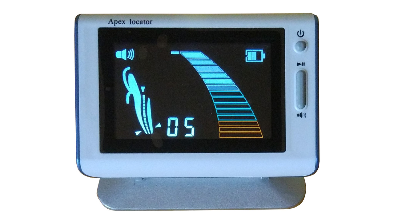 Апекслокатор J5 работает в сухой и влажной среде, аккумулятор, цветной  LCD дисплей, фото 1