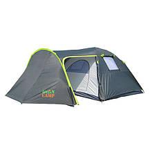 Палатка 4 х местная GreenCamp 1009