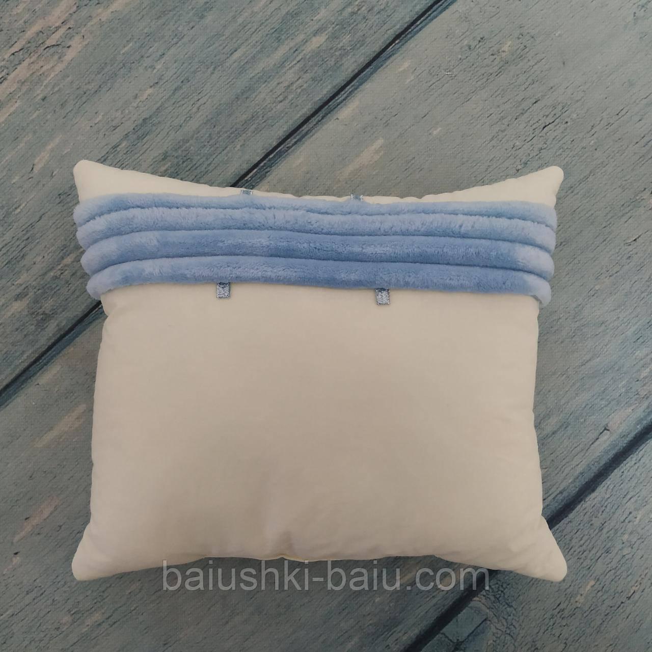 Подушка для новорожденного в коляску, 6 мес+