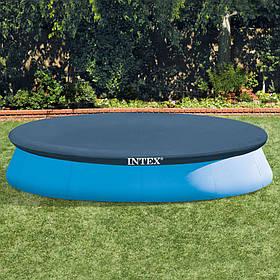 Тент для надувного круглого бассейна Intex 366 см отличный подарок