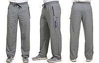 Штаны спортивные мужские, повседневніе, двунитка, ровные, модные, с карманами, до 60 р, фото 1