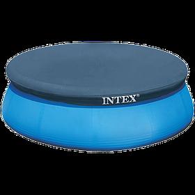 Тент для надувного круглого бассейна 305 см Intex для семьи