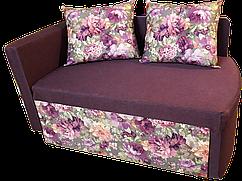 Диван дитячий Шпех 70см (Феліція+фіолетовий). Диванчик зі спальним місцем 2 метри