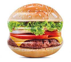 """Надувной матрас """"Гамбургер""""  scs"""