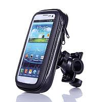 Водонепроницаемый держатель для телефона на мотоцикл и велосипед KSmoto HD-1 \ Размер L \ Код KS08049