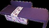 Диван дитячий Шпех 70см (Феліція+фіолетовий). Диванчик зі спальним місцем 2 метри, фото 3