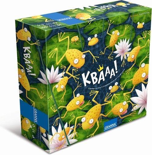 Настольная игра Granna Квааа! (80995)