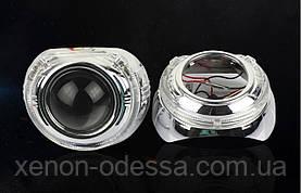 """Маска для ксеноновых линз 3.0"""" : S-MAX  со светодиодными Ангельскими Глазами LED CREE, фото 3"""