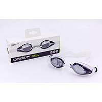 Очки для плавания детские SPEEDO MARINER MIRROR JR OK-66 (полипропилен, CP, TPR, силикон,сереб)