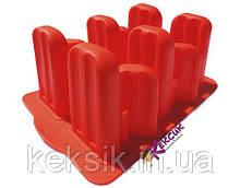 Форма для мороженого силикон 12 шт