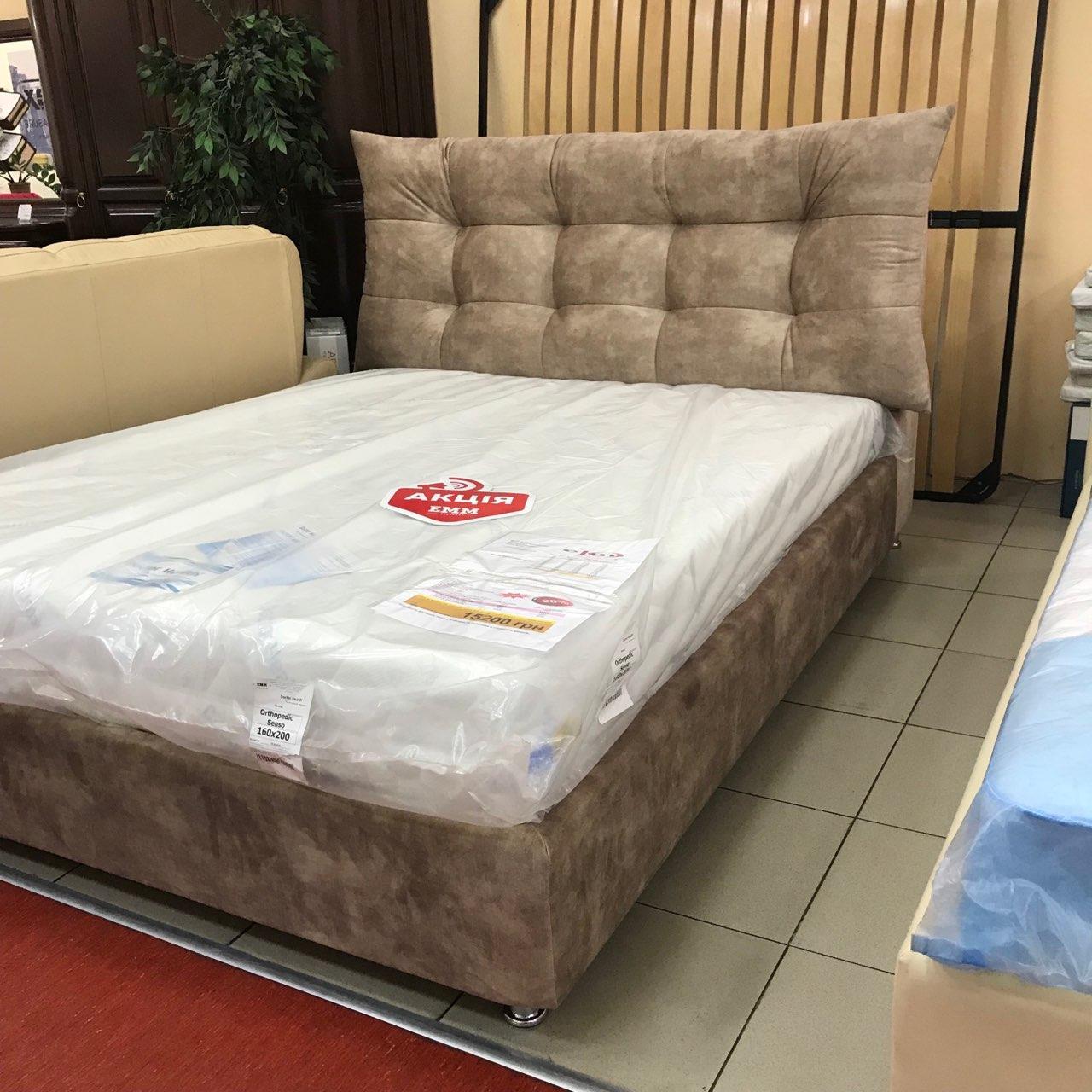 """Кровать """"Домовенок-АРТ"""" 160х200 модель """"Design Nova""""  (подъемный мех)"""