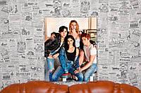 """Картина на холсте """"Ривердэйл. Riverdale. Сериал. Герои"""" 40х50 см."""