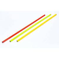 Палка гимнастическая тренировочная (штанга) пластик 1м (длина-1м, d-2,5см) IF-25