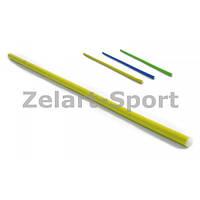 Палка гимнастическая тренировочная (штанга) пластик UR 0,8м (длина-0,8м, d-2,5см) IF-26
