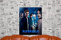 "Картина на холсте ""Ривердэйл. Riverdale. Сериал"" 40х50 см."