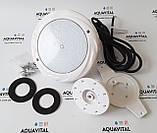 Прожектор светодиодный Aquaviva LED008–252LED (18 Вт) RGB / бетон / лайнер, фото 6