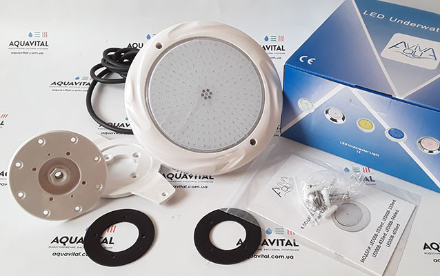 Светодиодный прожектор для бассейна Aquaviva LED008–252LED