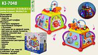 Детская развивающая игрушка музыкальный Мультицентр