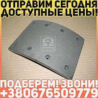 ⭐⭐⭐⭐⭐ Накладка тормоза ЗИЛ 130 задняя сверленая (Дорожная Карта)  130-3502105-21
