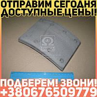 ⭐⭐⭐⭐⭐ Накладка тормоза ЗИЛ 130 задняя сверленая (производство  Трибо)  130-3502105-21