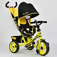 Велосипед 3-х колёс. 5700 - 4890 Best Trike (1) ПОВОРОТНОЕ СИДЕНЬЕ, КОЛЕСА EVA (ПЕНА) переднее колесо d=28см. задние d=24см