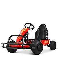 Электрокарт детский M 4041-3 Красный Гарантия качества Быстрая доставка, фото 1