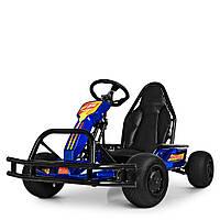 Электрокарт детский M 4041-4 Синий Гарантия качества Быстрая доставка, фото 1