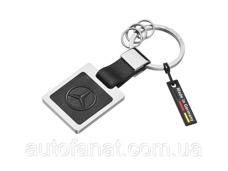 Брелок Mercedes-Benz Key Ring, Silver-coloured / Black (B66953626)