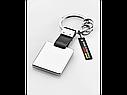 Брелок Mercedes-Benz Key Ring, Silver-coloured / Black (B66953626), фото 2