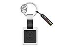 Брелок Mercedes-Benz Key Ring, Silver-coloured / Black (B66953626), фото 3