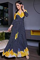 Красивое летнее платье в пол  SV 3460, фото 1